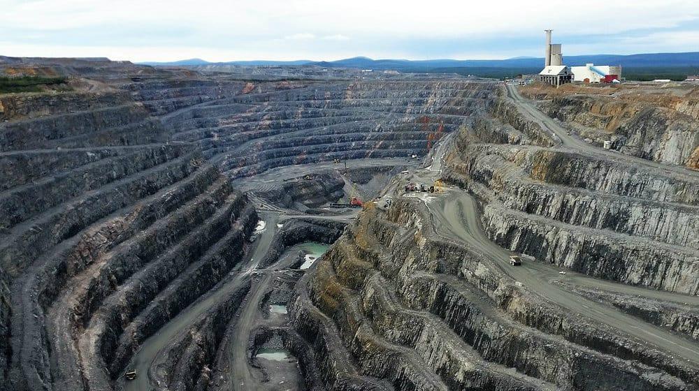 a copper mine in Sweden