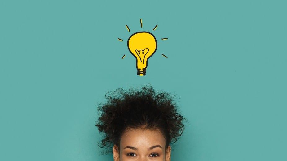 Woman has an idea
